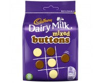 Cadbury Mixed Buttons, Bag (105g)