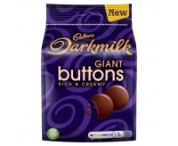 Cadbury Darkmilk Giant Buttons, Bag (105g)