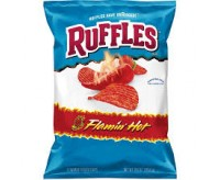 Ruffles Flamin' Hot Potato Chips (184g)