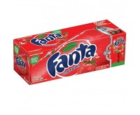 Fanta Strawberry (355ml),12 Cans Fridgepack