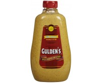 Gulden's Spicy Brown Mustard, Squeeze Bottle (227g)