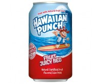 Hawaiian Punch, Fruit Juicy Red (355ml)