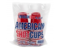 American Shot Cups, Red (20 pack) (59ml)