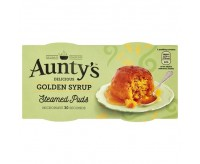 Aunty's Golden Syrup Puddings (2x95g)