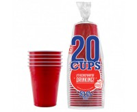 The Original Cup, Red - 20 Cups (532ml)