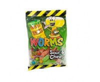 Toxic Waste Worms Sour & Chewy (142g)