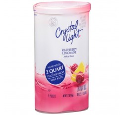 Crystal Light Raspberry Lemonade Drink Mix - 4-packs (38g)