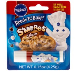Pillsbury Lip Smacker Ready To Bake S'mores Flavor (4g)