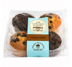 The Chelsea Bakery - Double Chocolate & Chocolate Chip Muffins