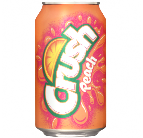 Crush Peach (355ml),12 Cans FridgePack