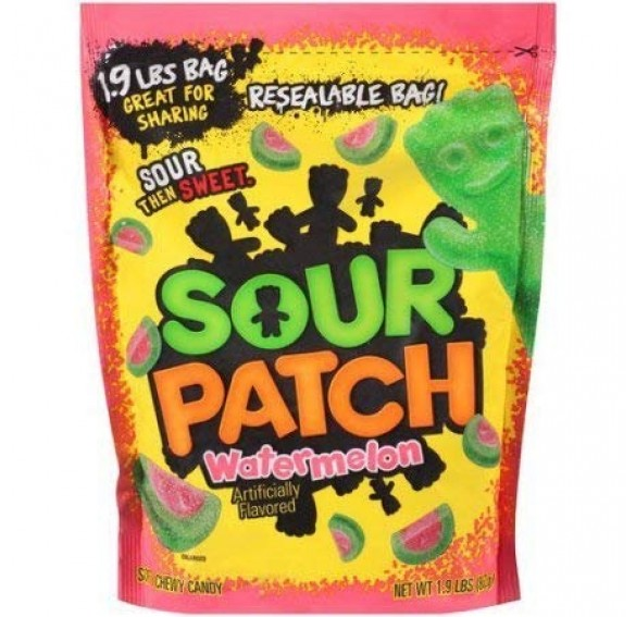 Sour Patch Kids, Watermelon (862g)