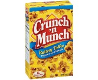 Crunch 'N Munch Buttery Toffee, Popcorn with Peanuts (99g)