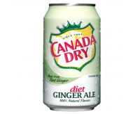 Canada Dry Diet Ginger Ale (355ml)