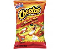 Cheetos Crunchy Flamin' Hot, Large Bag (227g)