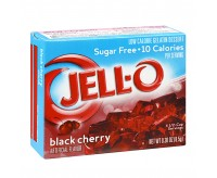 Jell-O Sugar Free, Black Cherry (9g)
