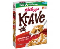 Kellogg's Krave Chocolate Cereal (323g)